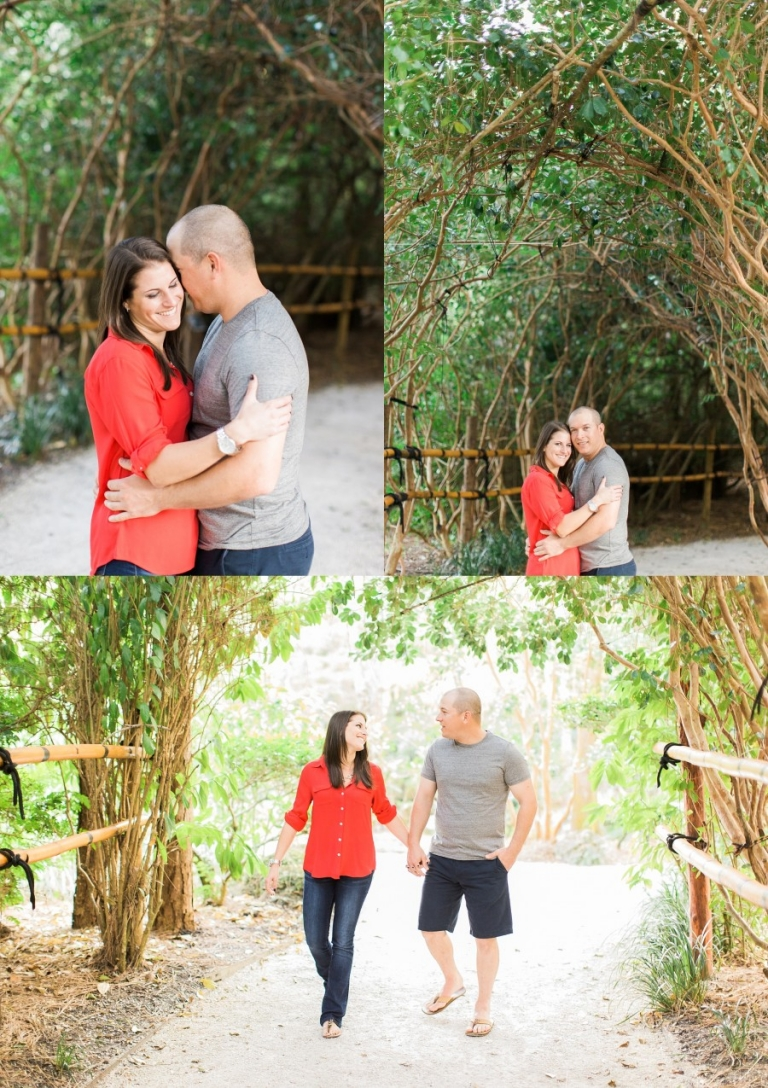 Morikami Engagement Photography