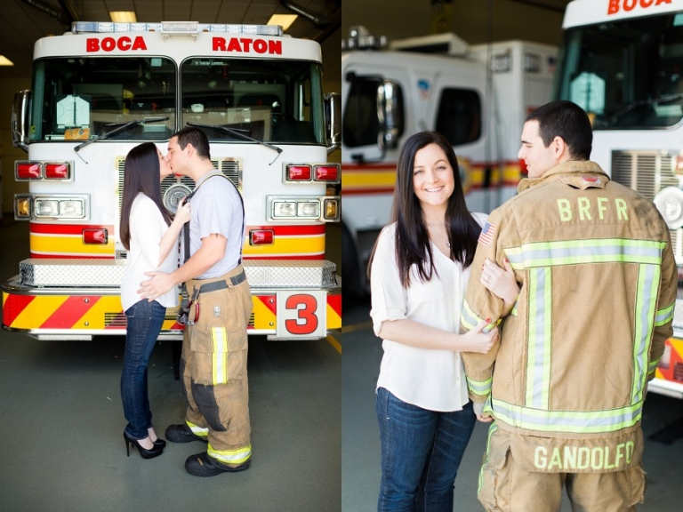 Boca Raton Firefighter Engagement Photography_0002