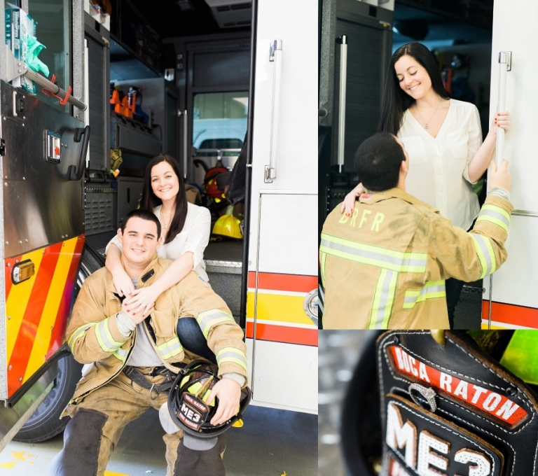 Boca Raton Firefighter Engagement Photography_0003