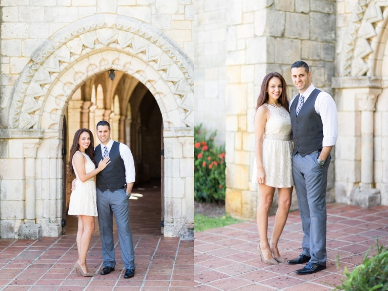 Ancient Spanish Monastery Engagement Photography_0001