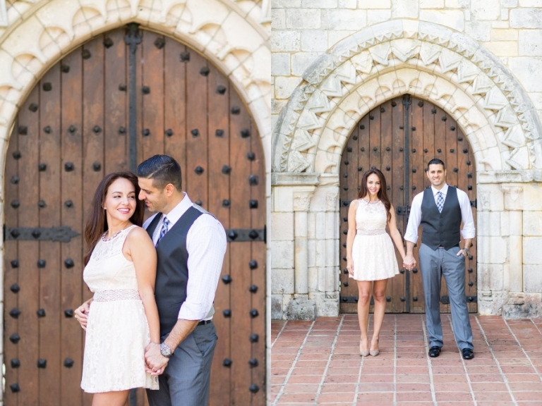 Ancient Spanish Monastery Engagement Photography_0003