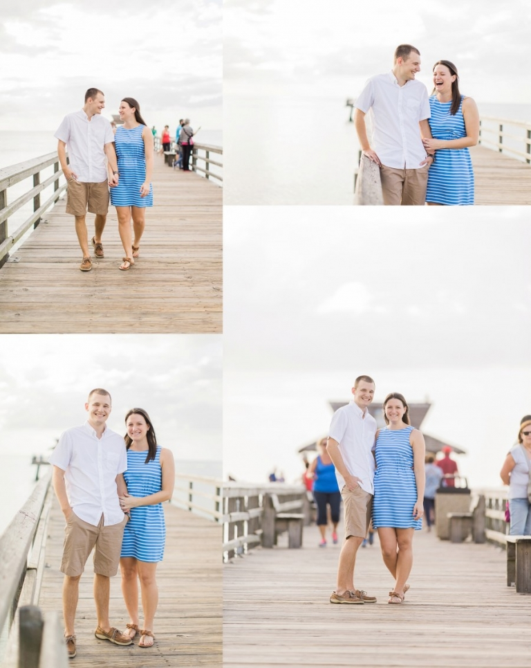 Naples Beach Engagement Photography