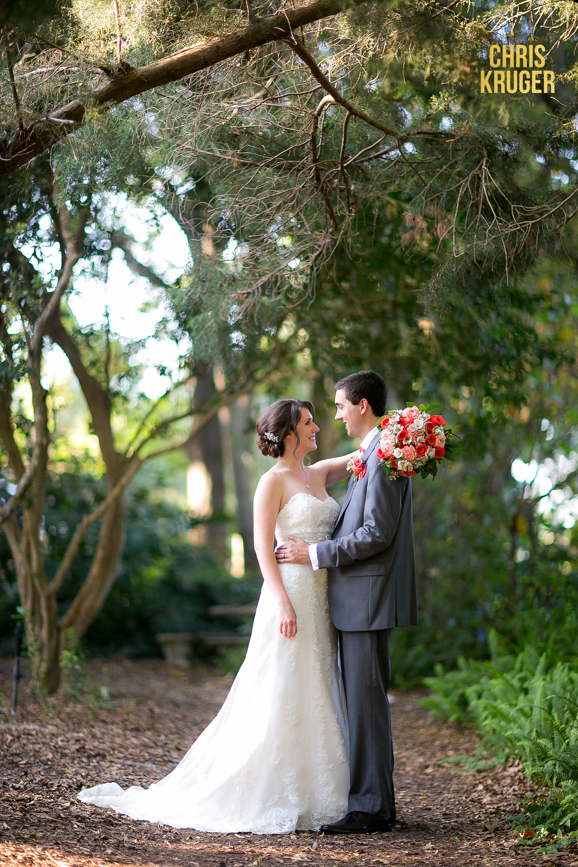 Heathcote Botanical Gardens Wedding Photography